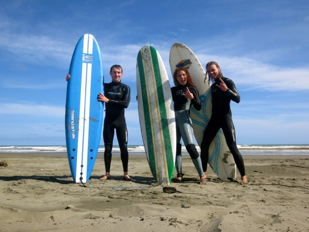 Surfing in NZ