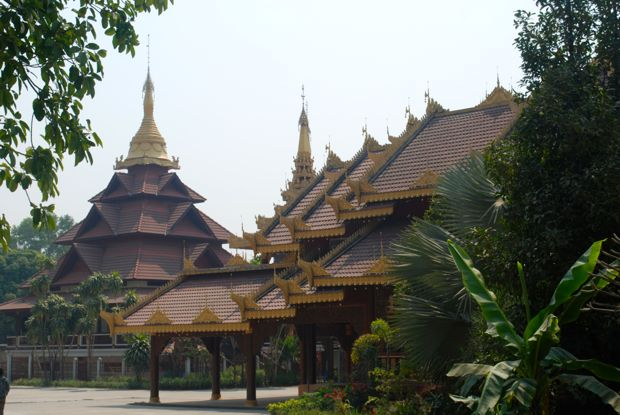 Buddhist temple or wat