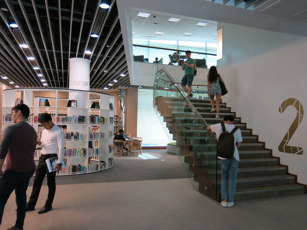Library at Singapore Management University (SMU)