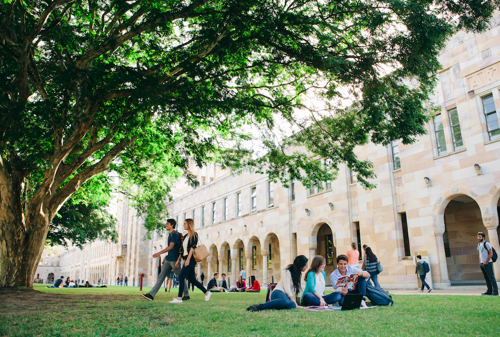 University of Queensland Campus in Brisbane