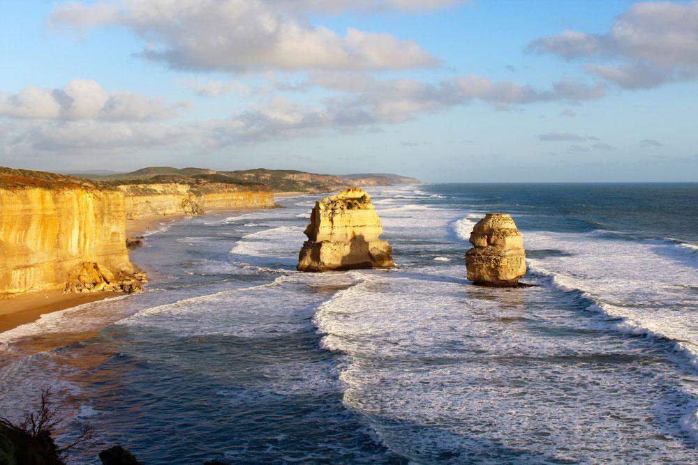 12 Apostles near Melbourne