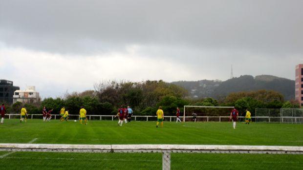 Soccer at Kelburn Park