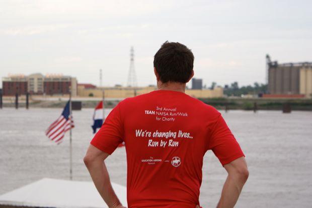 TEAN St Louis Fun Run t-shirt