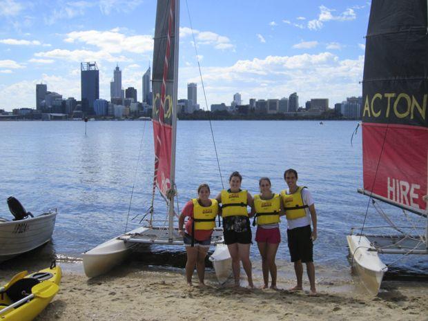 Sailing Perth