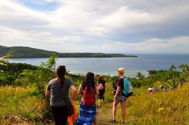 Fiji hike