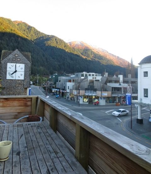 Queenstown Hostel view