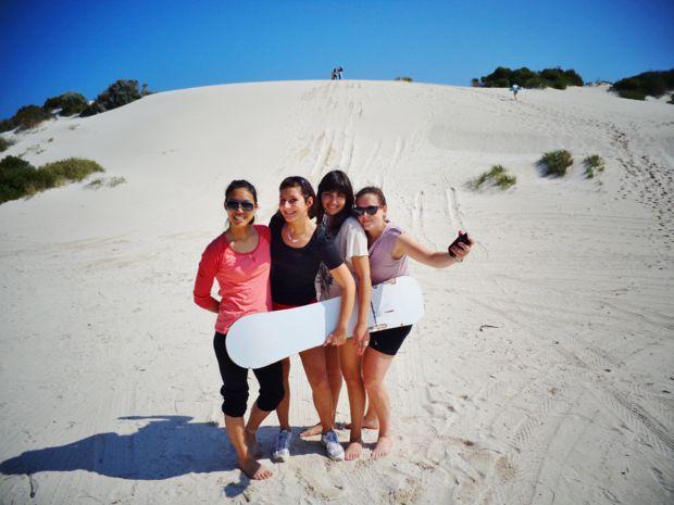 Sandboarding in WA