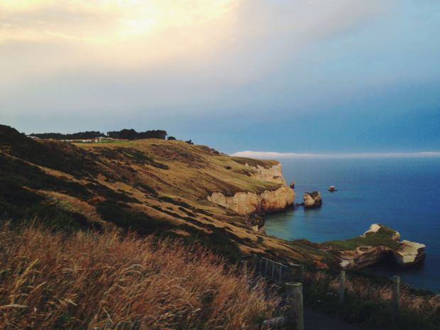 Tunnel Beach, Otago