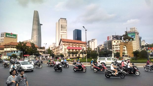 Bikes in Ho Chi Minh City