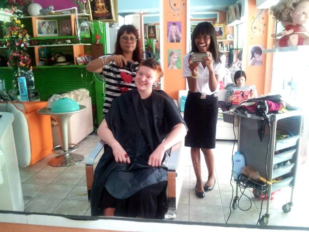 Thai hair salon