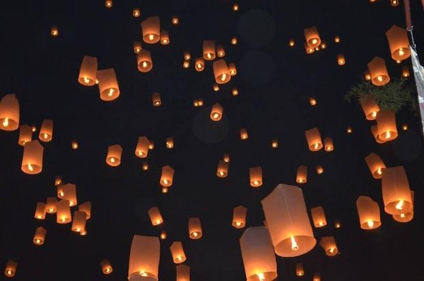 The Paper Lanterns of Yi Peng in Thailand | TEAN