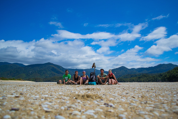 Photo taken on the Abel Tasman Great Walk by Ashok Chandwaney, St. Mary's College of Maryland who studied abroad in New Zealand.