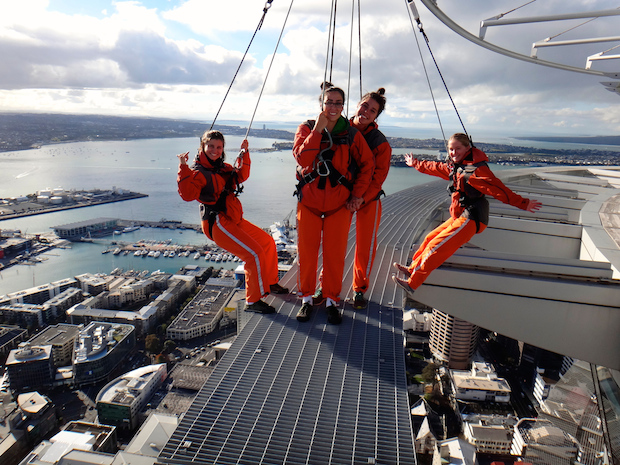 The SkyWalk in Auckland is a great way to see the city and face your fear of heights.