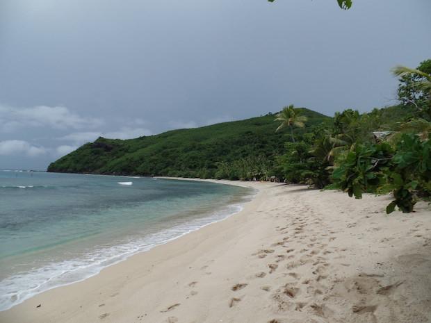 Beach view island