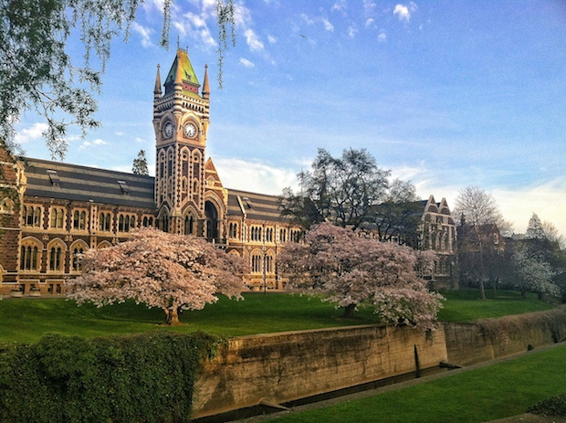 University of Otago captured by Hannah Luther, University of Rhode Island who studied abroad here.