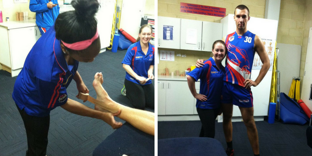 Awesome experience interning in Perth with an Aussie Rules Football (AFL) team