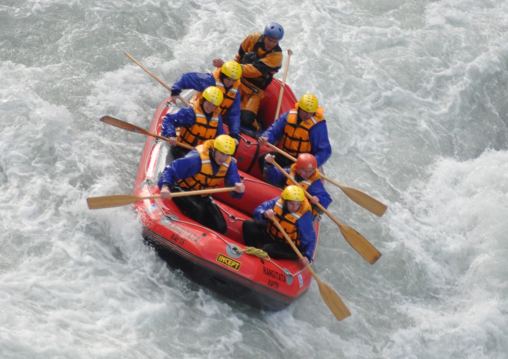 Rafting in Rangitata