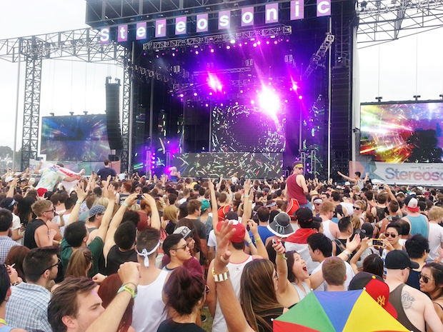 Photo by Jodi Huang, University of California San Diego, taken at Stereosonic in Melbourne