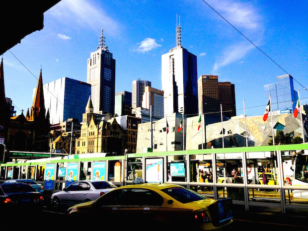 Hello Melbourne. Photo by TEAN Alum Amanda Cianci who studied abroad in Australia