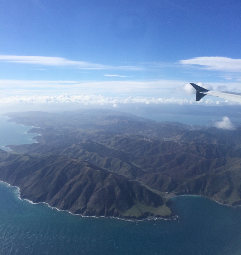 Flying in New Zealand - Meghan Coyle