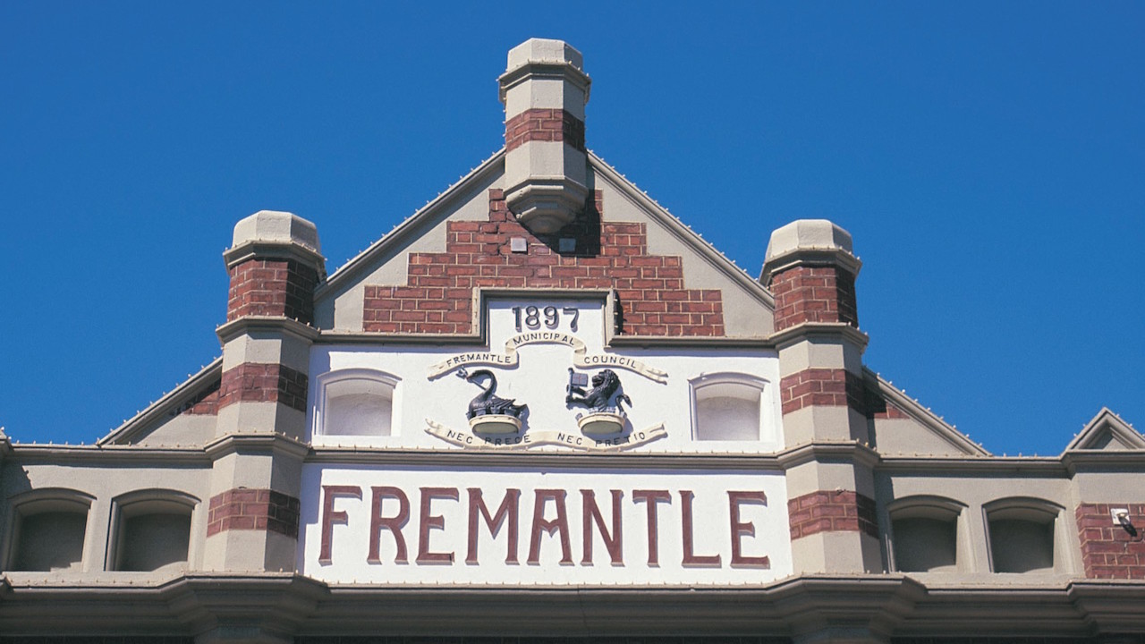 The Fremantle building in Perth, Australia