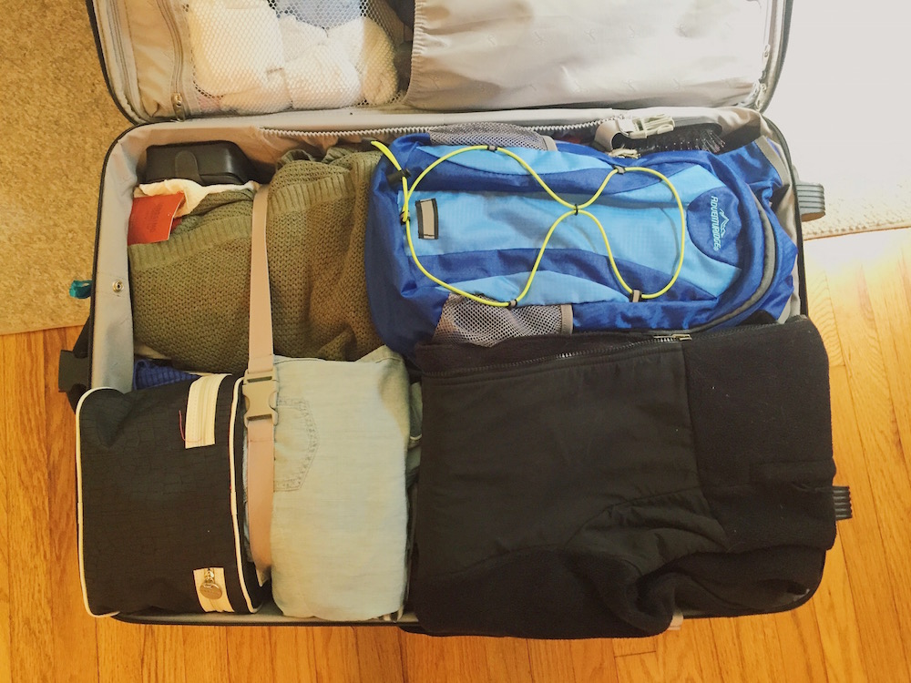 How much can you cram into your suitcase before leaving? Better yet, what should you be cramming into you suitcase before leaving?
