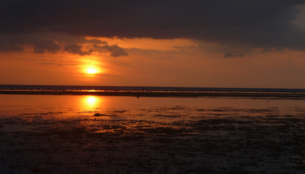 Sunset in the Gili Islands, Indonesia
