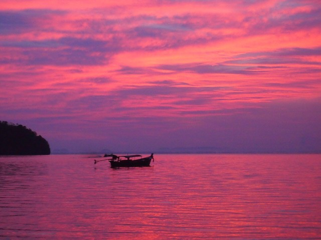 Krabi Thailand sunset