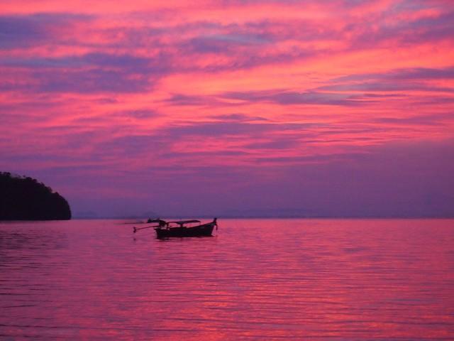 Krabi Thailand sunset