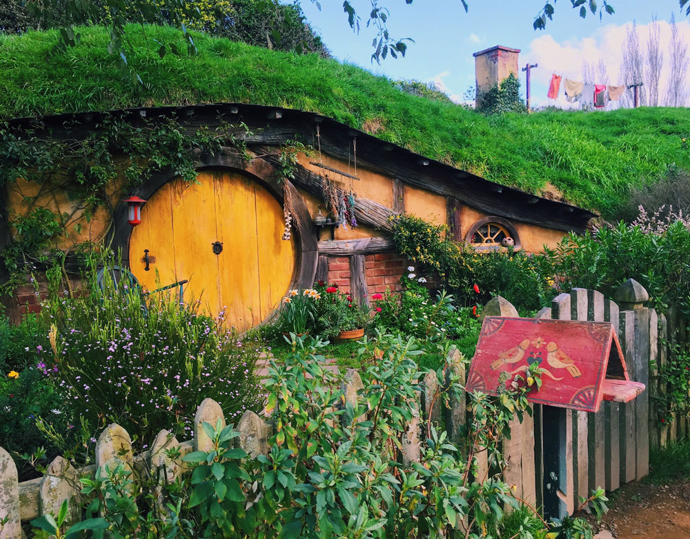 Hobbiton | Photo by Katherine Farrell, University of Hartford, studied abroad at Victoria University of Wellington
