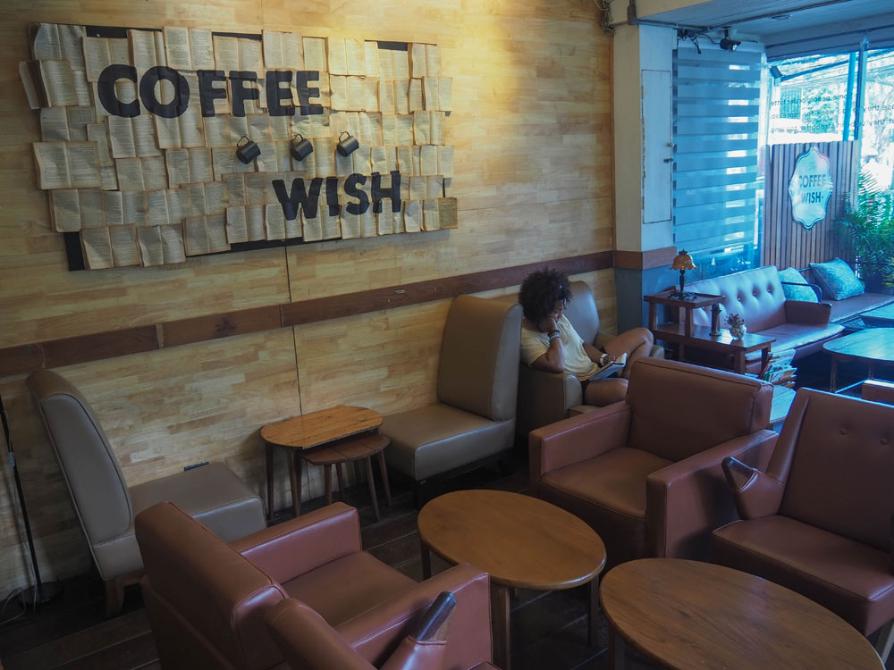 Coffee Wish cafe in China Man Thailand