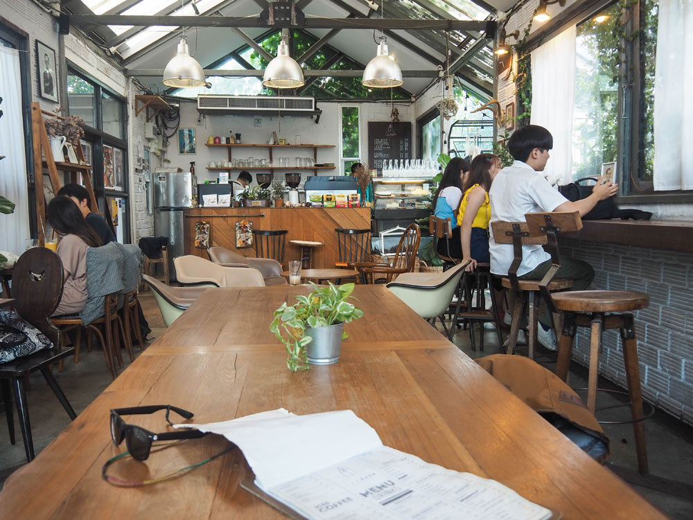 The Barn cafe in Chiang Mai Thailand