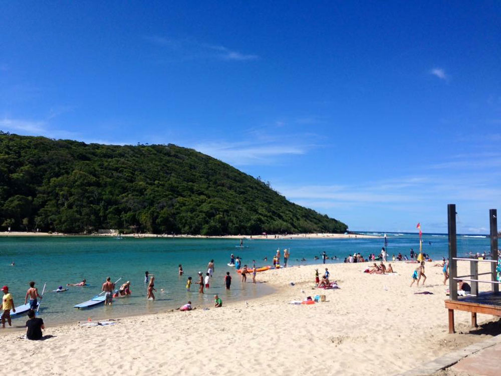 SUP Tallebudgera Creek