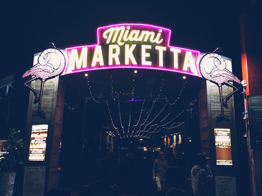 Miami Marketta market on the Gold Coast