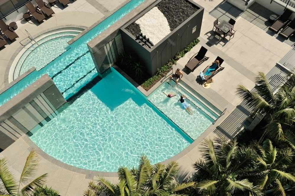 Peppers Broadbeach outdoor pool
