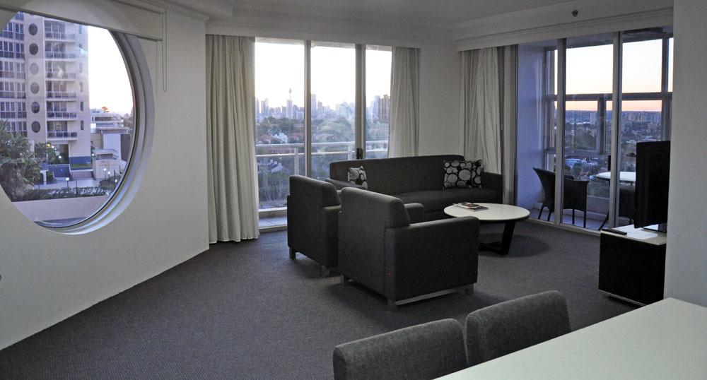 TEAN Bondi Junction housing sample living room