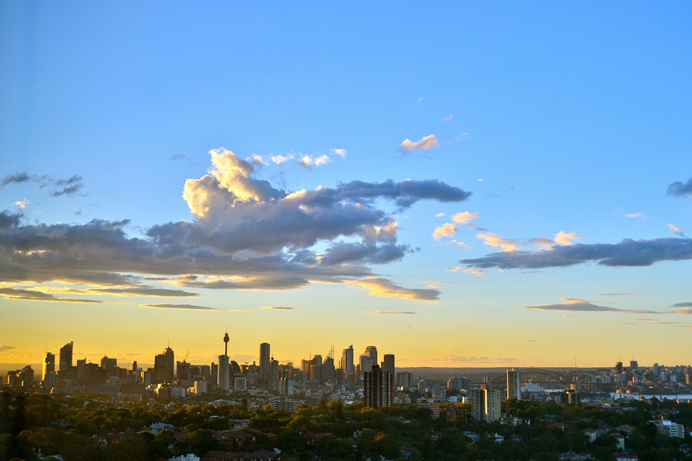 View from TEAn Housing in Bondi Junction