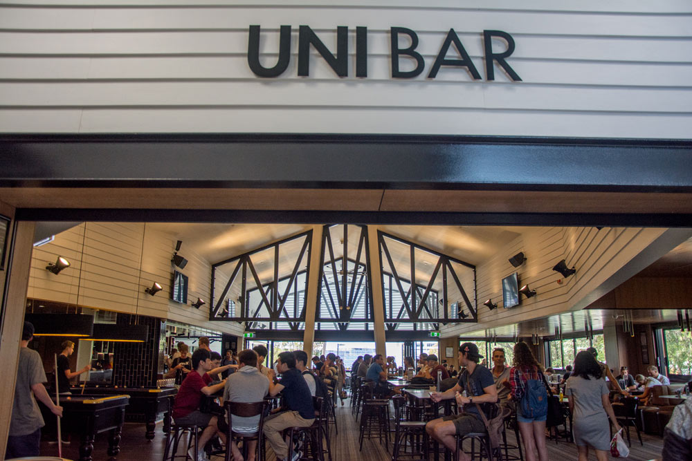 Griffith University Goast Uni Bar