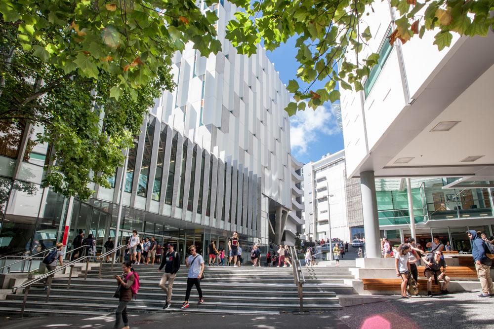 AUT University campus in Auckland