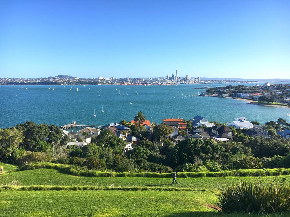 Auckland Harbour from Devonport
