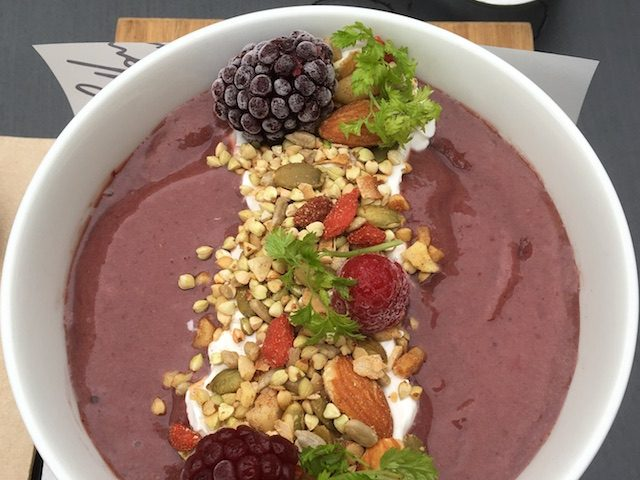 Açaí bowl in Brisbane