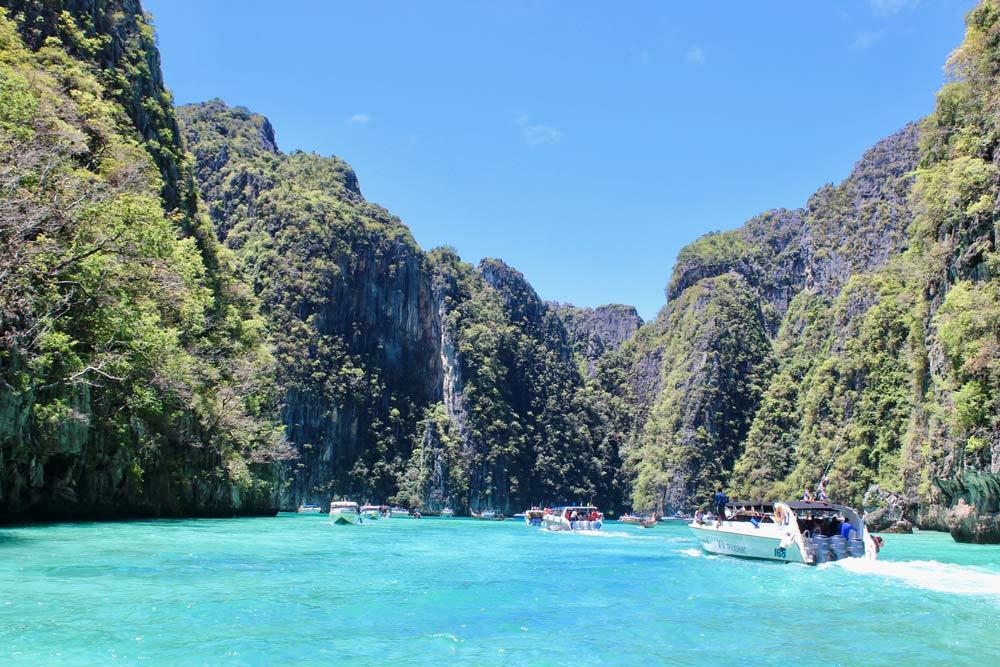 Pilei Lagoon at Koh Phi Phi