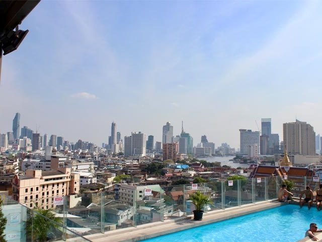 Bangkok skyline featured