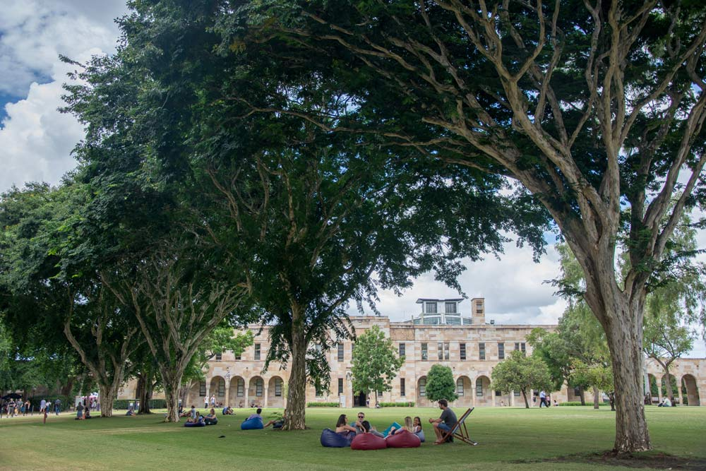 University of Queensland (UQ) campus
