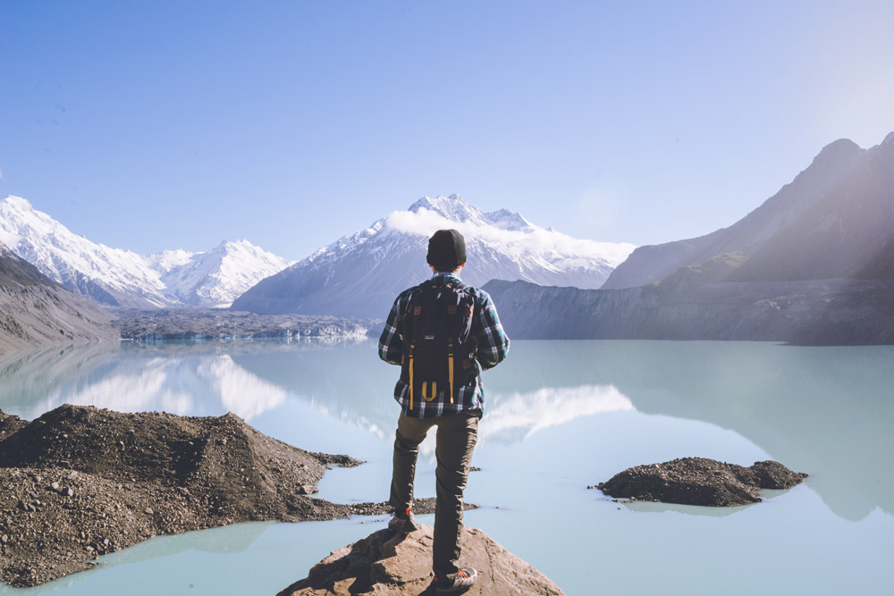 Incredible nature is one reason students study abroad in New Zealand