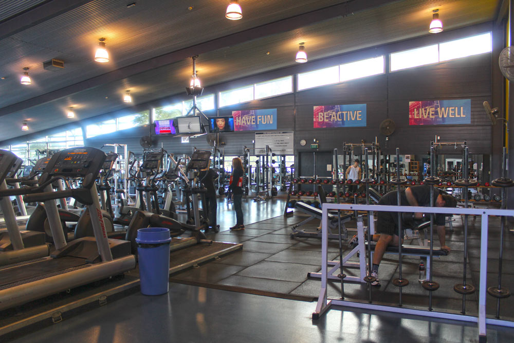 Massey University gym
