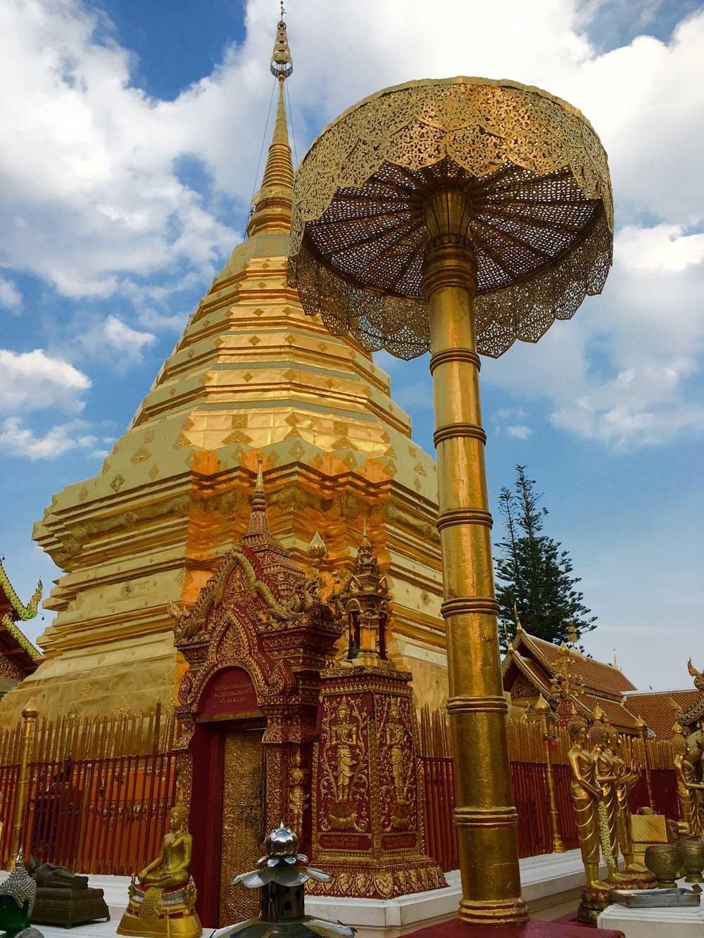 Wat Phrathat Doi Suthep Chiang Mai Thailand