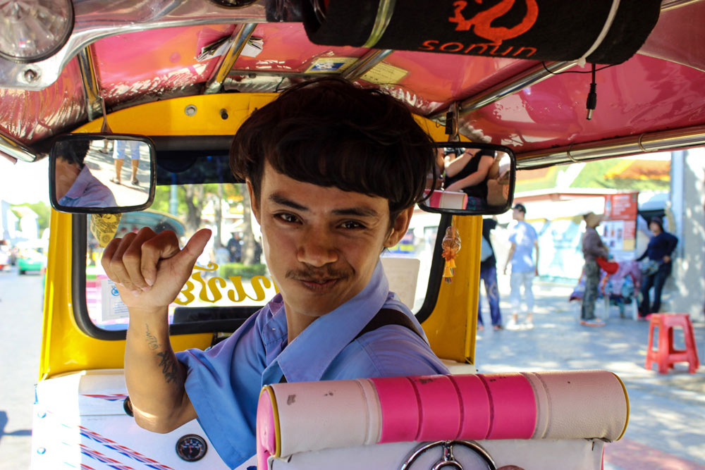 Bangkok by tuk tuk