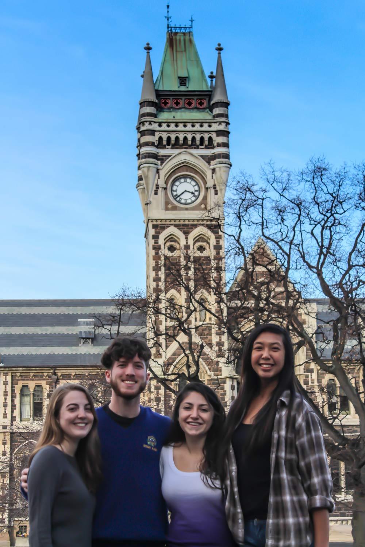 TEAN students at Otago University