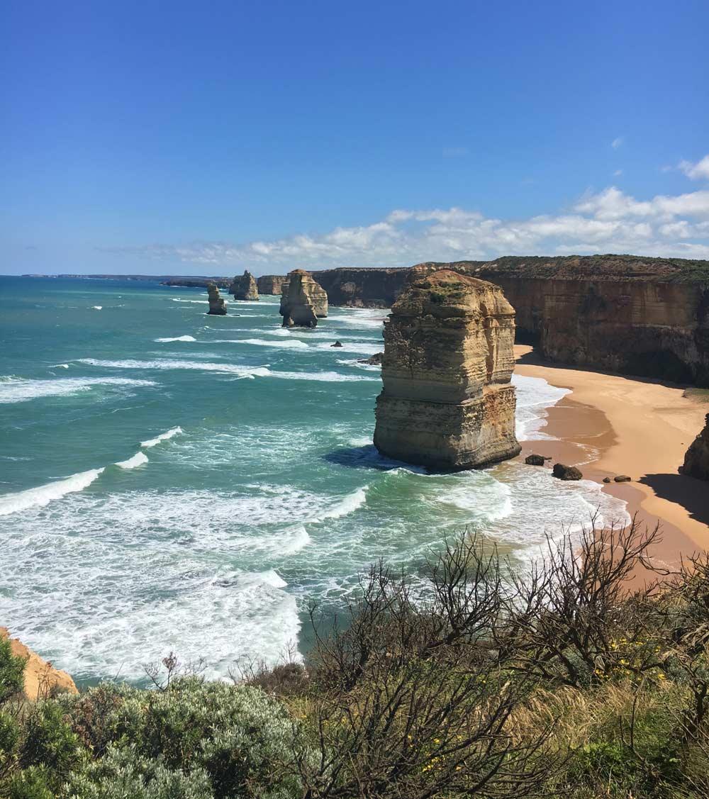 Spectacular views in Australia